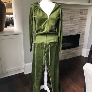 Vintage Juicy Couture Tracksuit - Warm Green